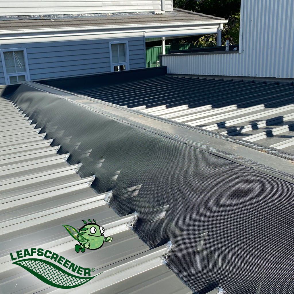 Box Gutter Guard by LEAFSCREENER