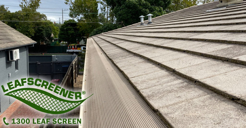 LEAFSCREENER heavier polymesh gutter protection providing unrivaled functionality